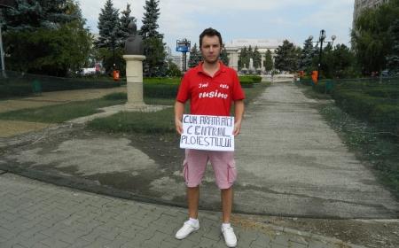 imi este Rusine de cum arata aici CENTRUL PLOIESTIULUI